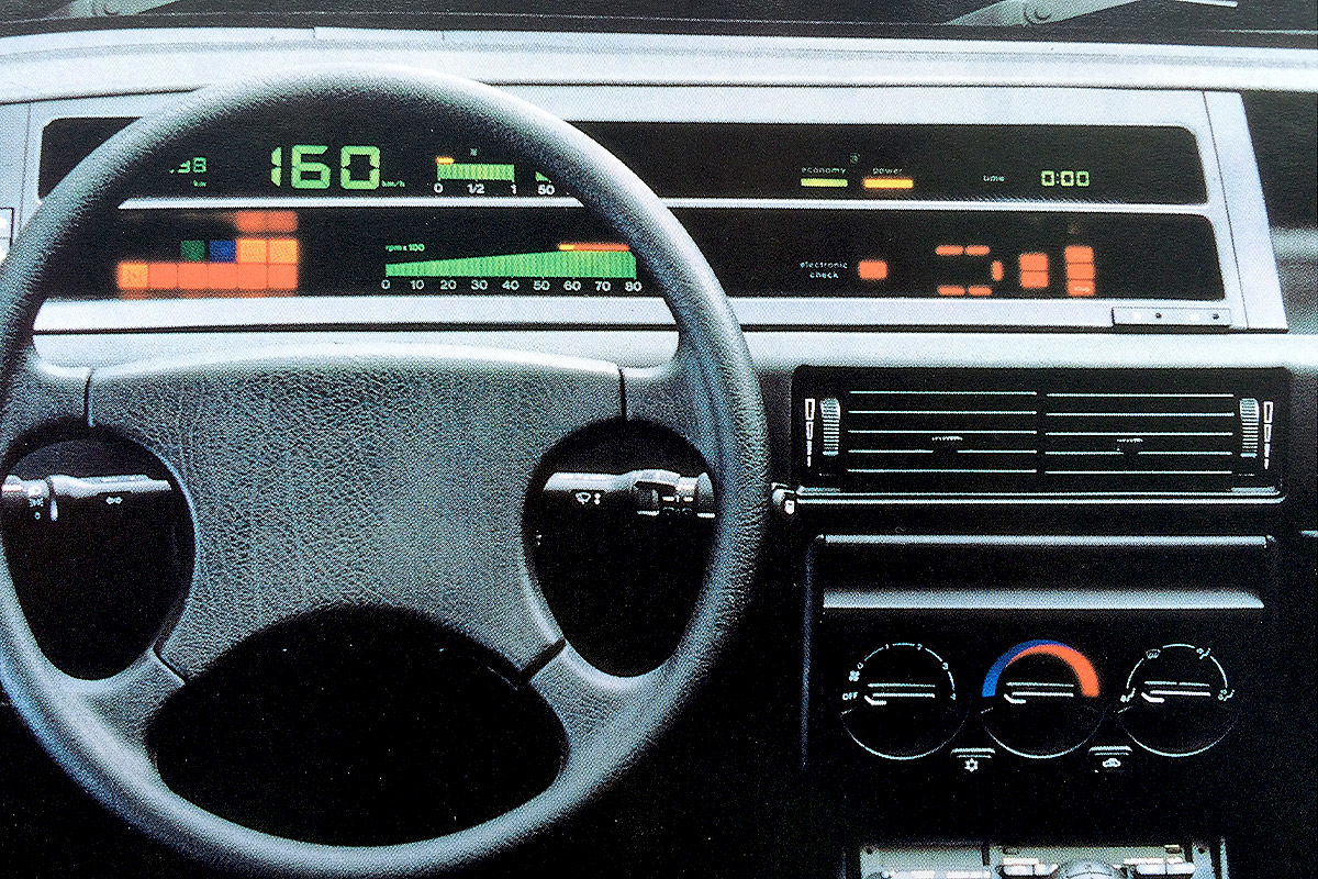 19 Digital-Cockpits der 70er, 80er und 90er