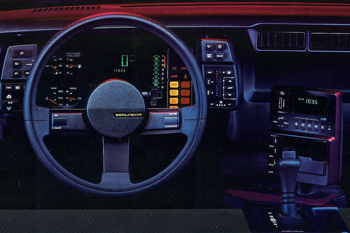 historische Digital-Cockpits