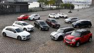 SUVs vs Kompakte: 12 Autos im Test-Vergleich