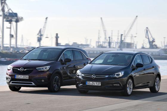Opel Crossland X Opel Astra