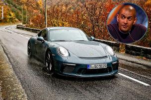 Harris crasht mit Porsche