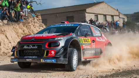 Rallye-WM: Sensation in Spanien