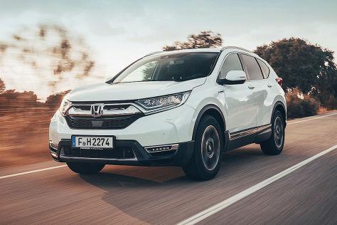 Neuer Honda Cr V Hybrid Im Test Autobildde