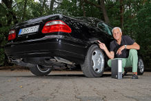 Mercedes CLK mit Rost-Problem