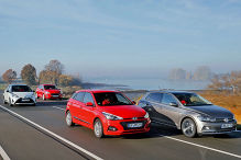 Ford Fiesta/Hyundai i20/VW Polo/Toyota Yaris: Test