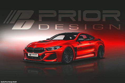 Tuning: BMW 8er von Prior Design (2019)