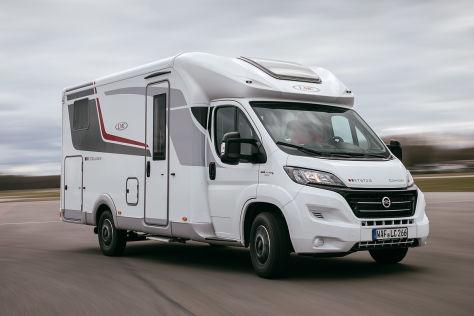 lmc cruiser comfort t 672 im wohnmobil test. Black Bedroom Furniture Sets. Home Design Ideas