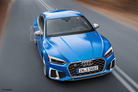 Audi A5 S5 Facelift 2019 Autobild De