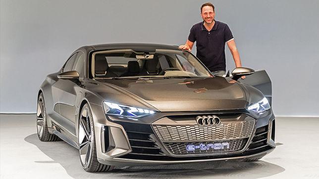 Video Audi E Tron Gt Concept La 2018 Autobild De