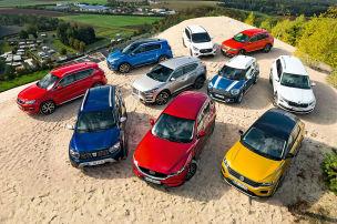 10 Allrad-SUVs im Check