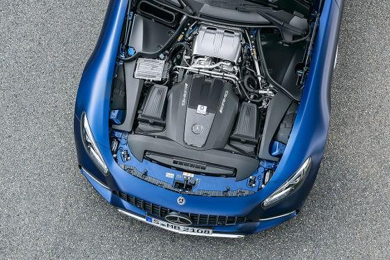 AMG verpasst dem GT erneut ein Facelift