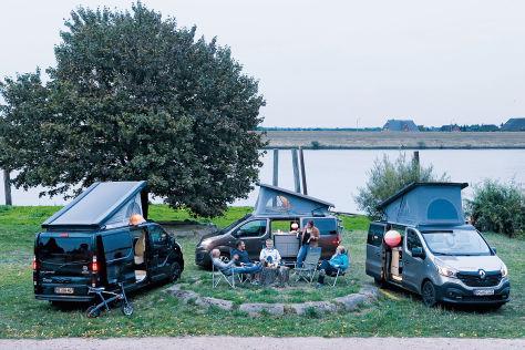 karmann p ssl kompanja campervans im wohnmobil test. Black Bedroom Furniture Sets. Home Design Ideas