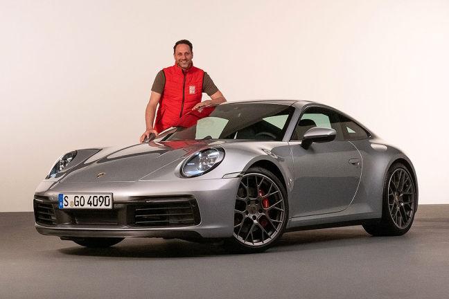 Video Porsche 911 992 2018 Autobild De