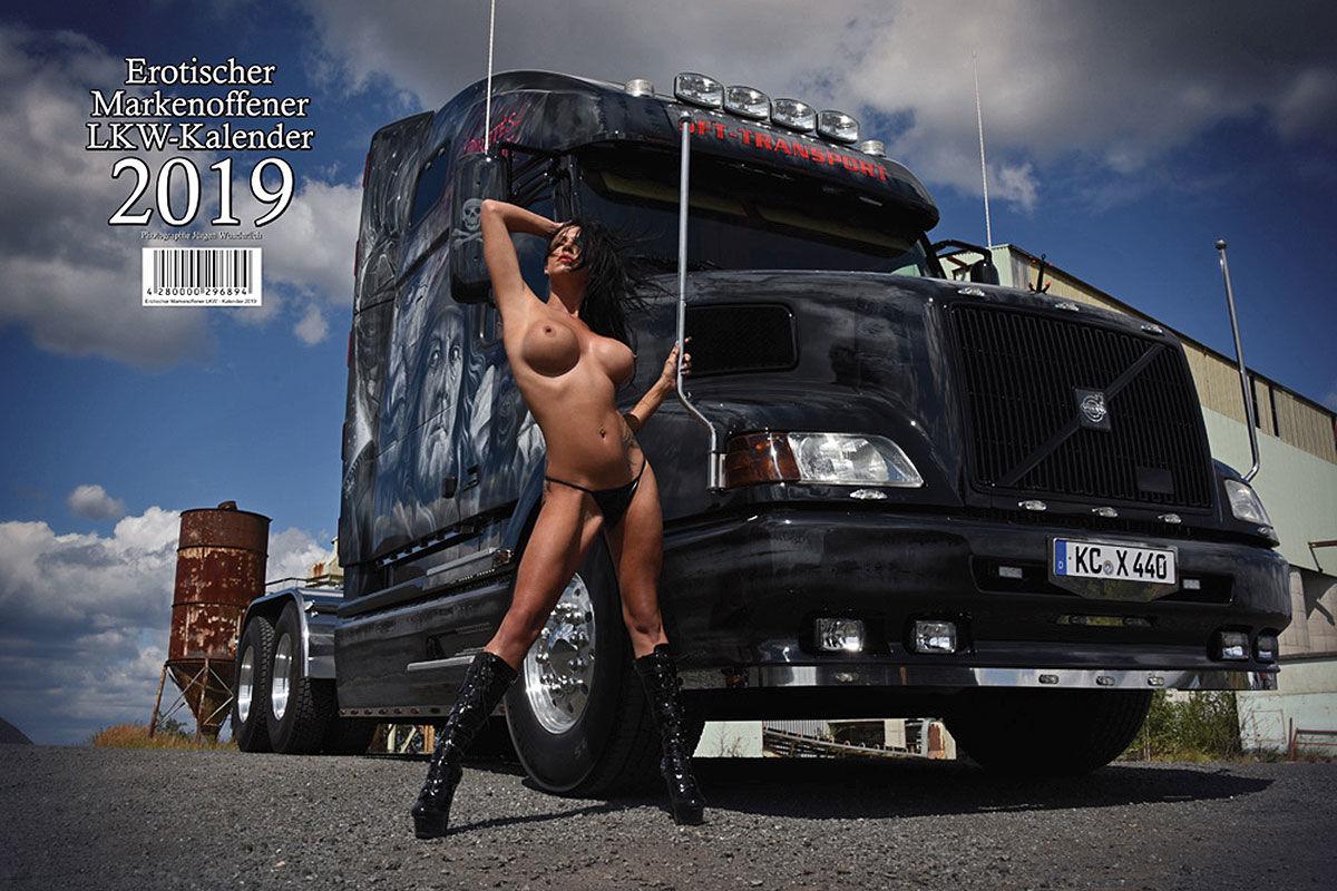 Sexy Lkw-Kalender 2019: Heiße Girls und dicke Brummis