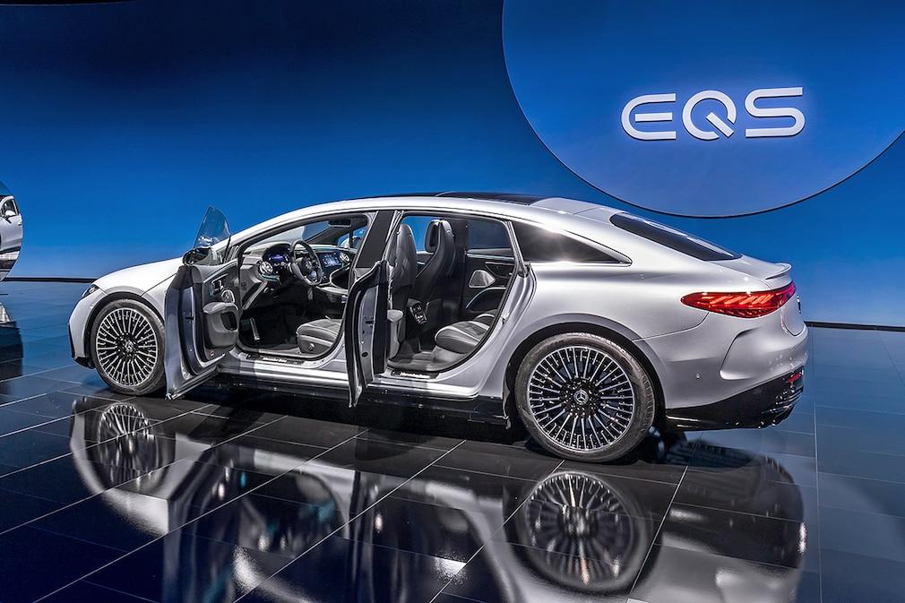 Mercedes EQS (2021): Das bietet die vollelektrische S ...