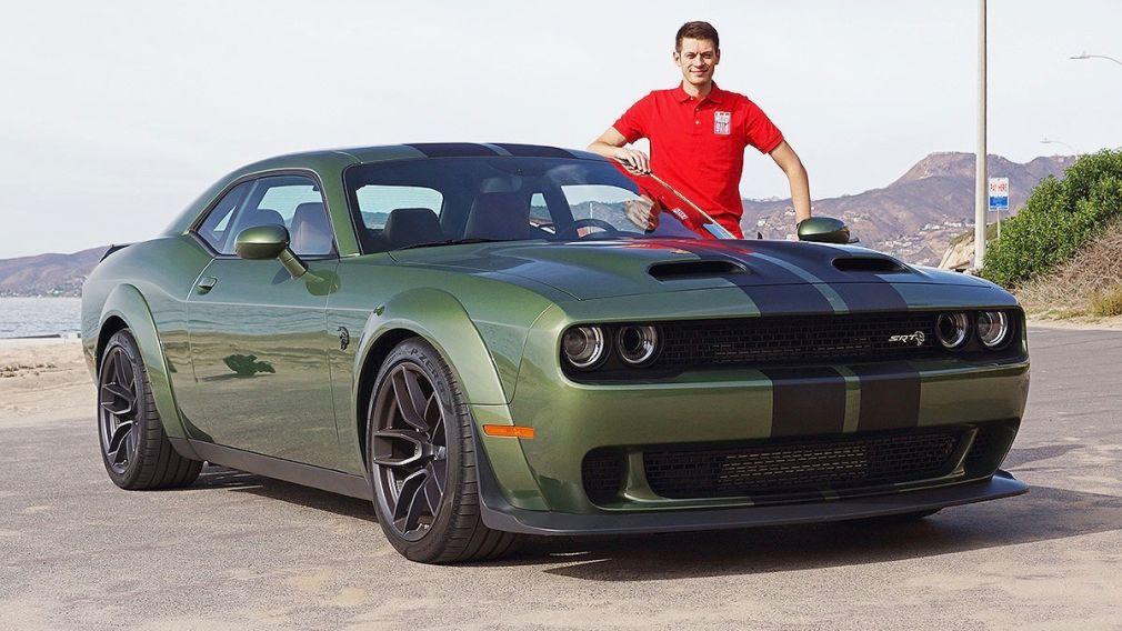 dodge hellcat hat Dodge Challenger SRT Hellcat - autobild.de