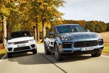 Porsche Cayenne e-Hybrid/Range Rover Sport P400e Hybrid: Test
