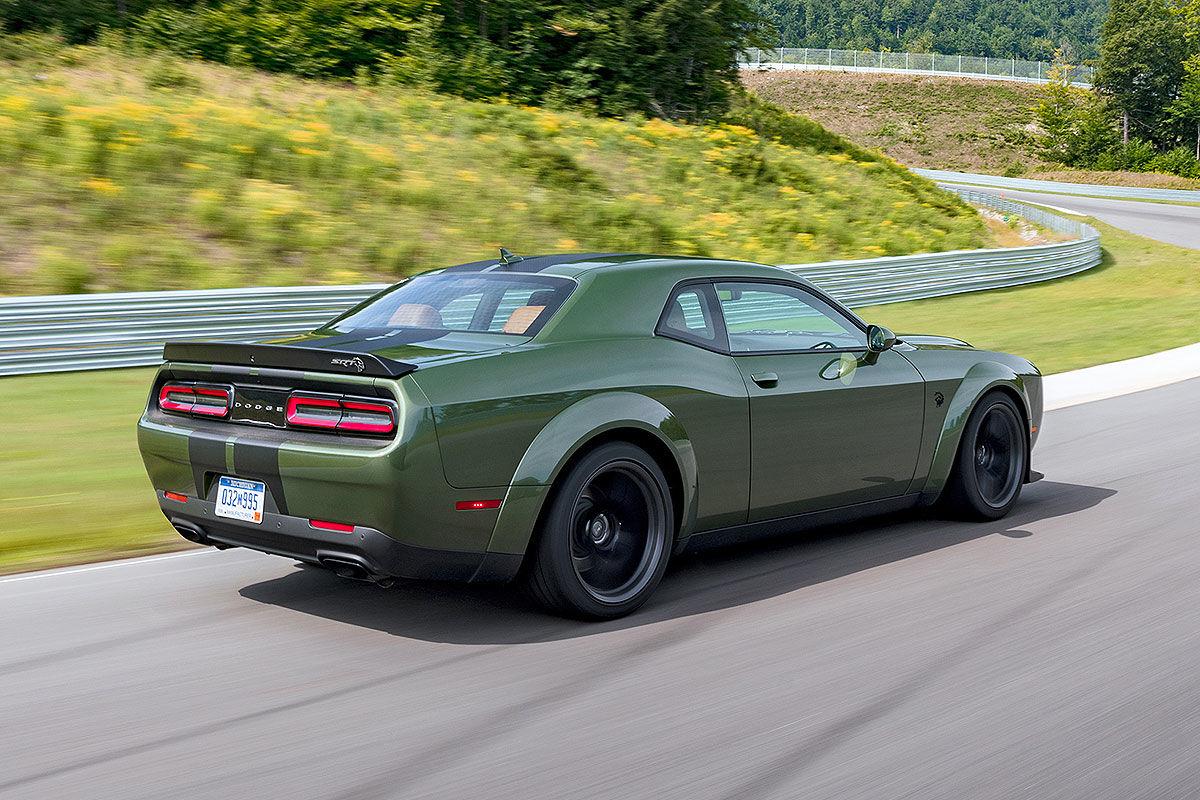 Dodge Challenger SRT Hellcat Redeye (2018): Test