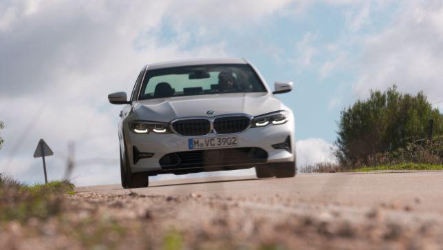 Erste Fahrt im BMW 320d