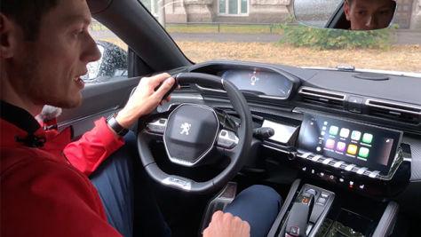 Connectivity-Check im Peugeot 508