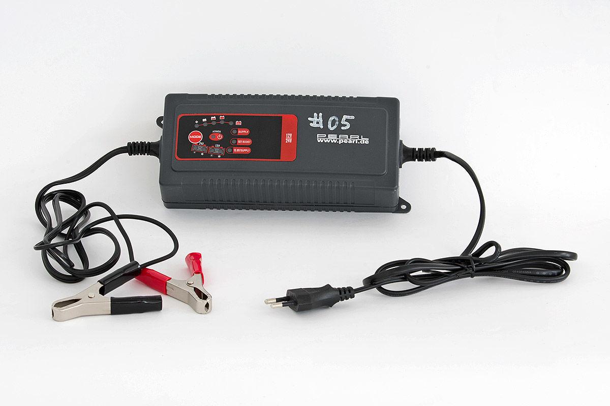 Autobatterie-Ladegeräte Test