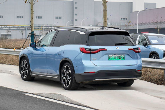 Elektro-SUV mit Wechselbatterien