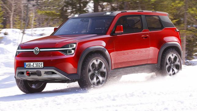Kommt so das nächste E-SUV von VW?