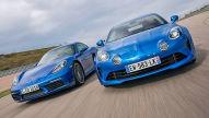 Alpine A110/Porsche 718 Cayman: Test