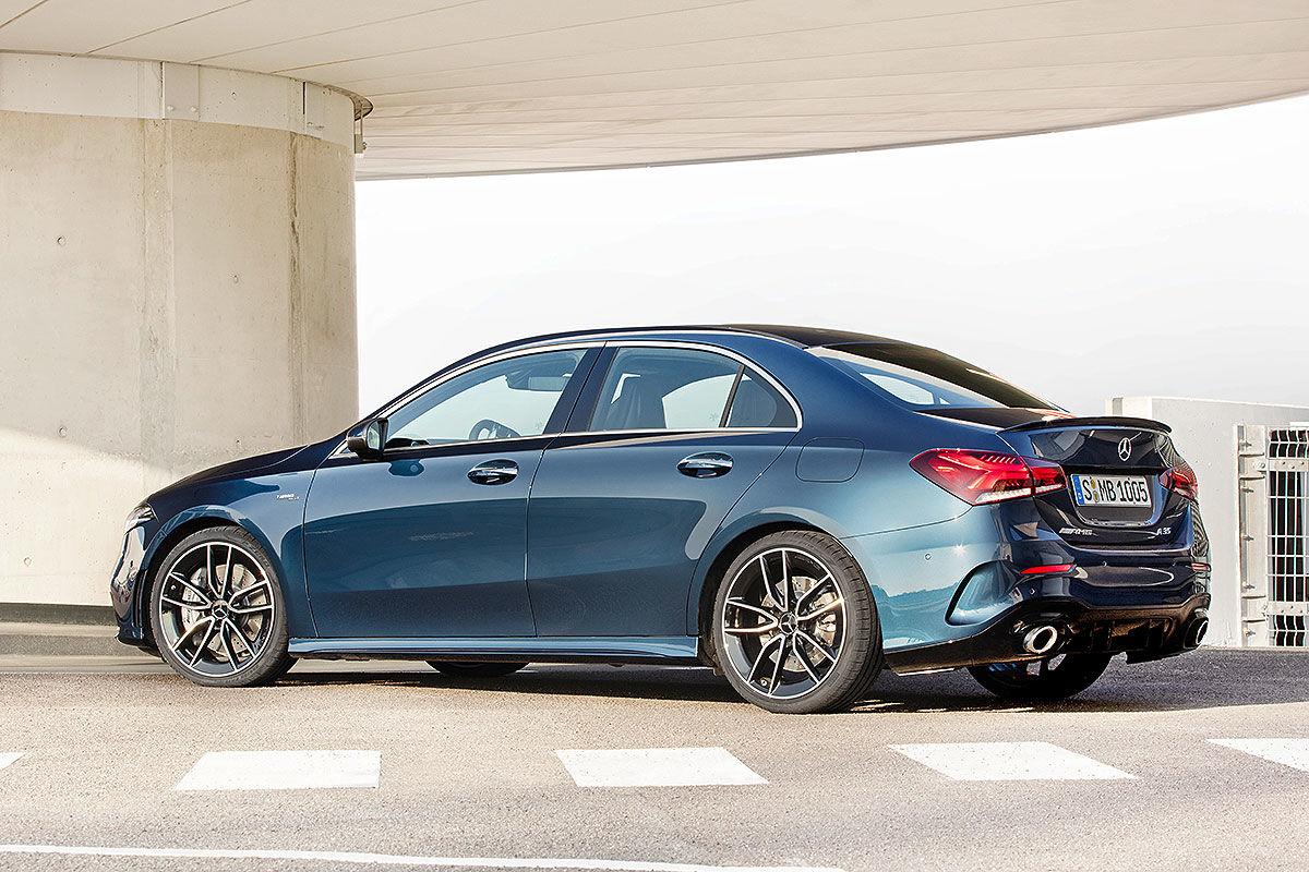 Bildergalerie Mercedes-AMG CLA 35 (2019)
