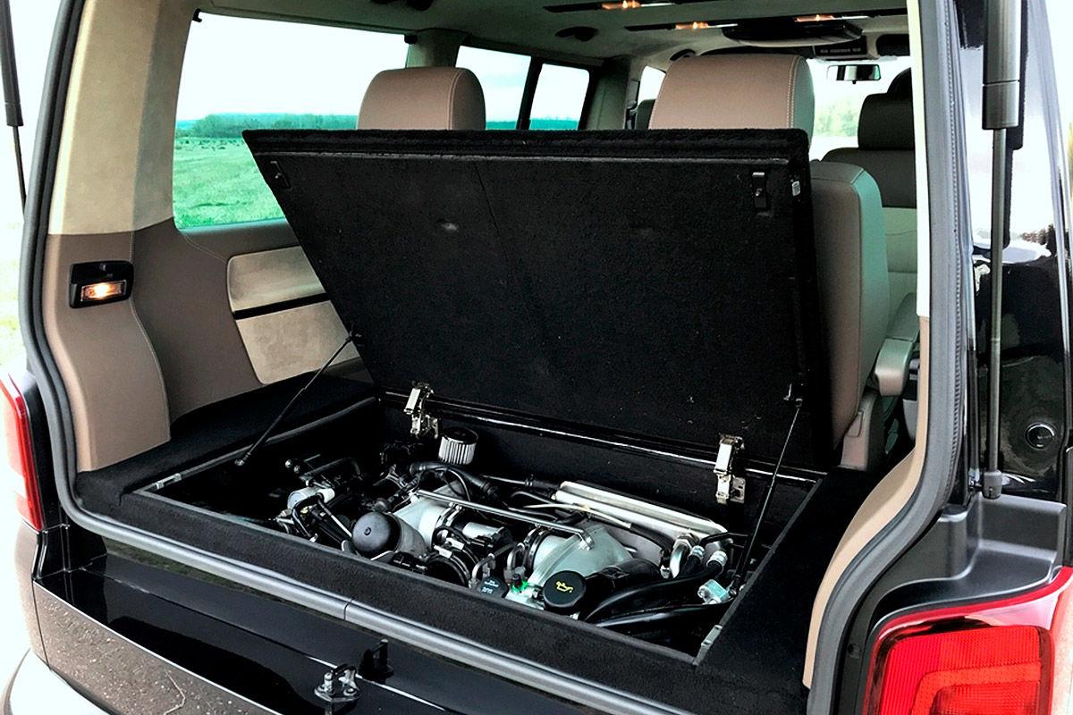 VW T5-Umbau: Familienbus mit Porsche-Motor und 580 PS