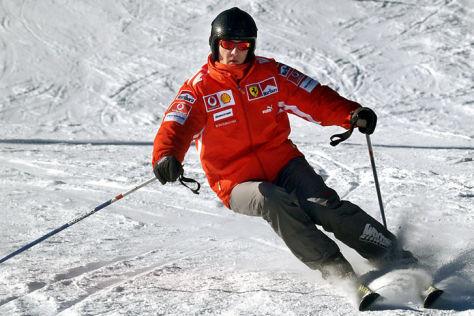 Schumacher-Skiunfall vor fünf Jahren