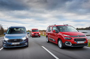 Citroën Berlingo/Ford Tourneo/VW Caddy: Test
