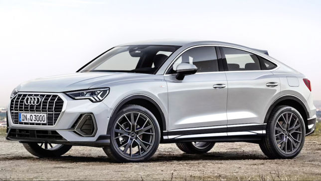 video audi q3 sportback 2019. Black Bedroom Furniture Sets. Home Design Ideas