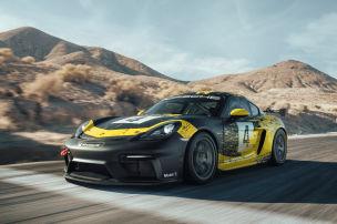 Porsche zeigt Bio-Cayman