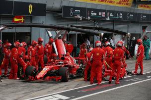 Nur Vettel unter zwei Sekunden