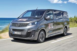 Erste Fahrt im Opel Zafira Life