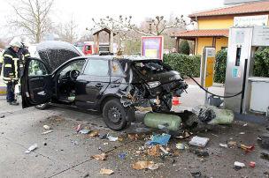 Audi A3 g-tron: Gas-Explosion