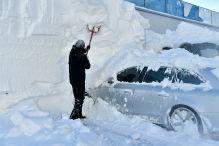 Die Schnee-Last der Autos