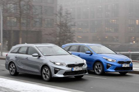 Kia Ceed SW: Test Benziner vs. Diesel - autobild.de