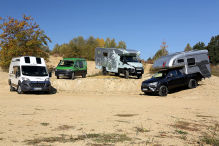 Allradler: Wohnmobil-Test