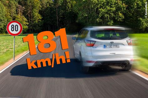 Polizei Hamburg: Autobahnraser geschnappt