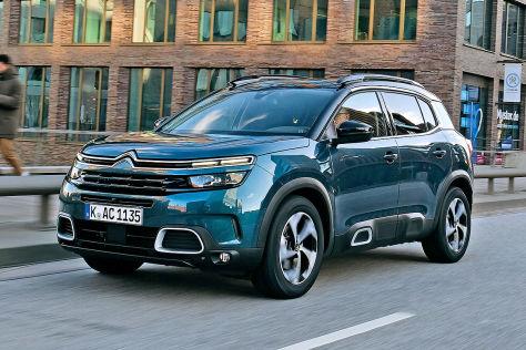 Citroën C5 Aircross im Test: Konkurrenz für Tiguan & Co ...