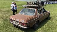 """Mercedes W 123 (""""brauner Benz""""): Reportage"""