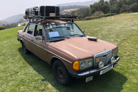 """Mercedes W 123 """"brauner Benz"""""""
