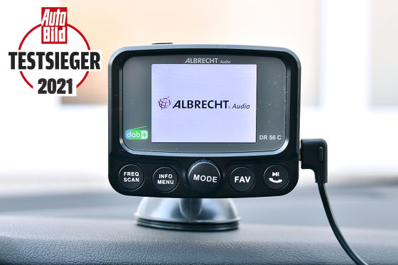 DAB+-Adapter  Albrecht Audio  Testsieger