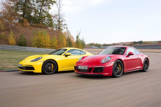 Porsche 718 Cayman GTS Porsche 911 Carrera GTS