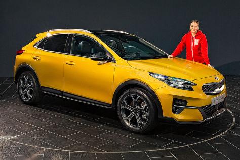 Kia Xceed 2019 Test Preis Motoren Fahrbericht Und Mehr Autobild De