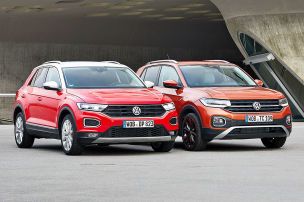 VW T-Roc/VW T-Cross: Test