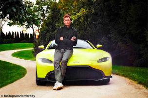 Brady setzt auf Aston Martin