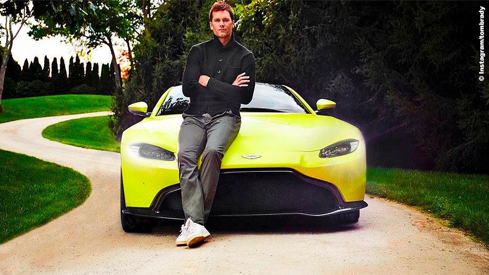 Tom Brady Auf Diese Autos Fährt Der Nfl Superstar Ab Autobild De